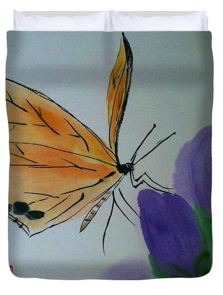 Save The Monarchs Duvet Cover