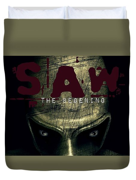 Saw Duvet Cover