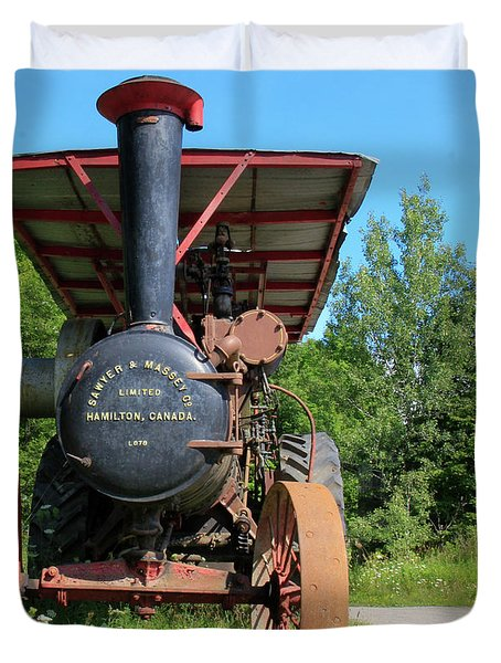 Sawer And Massey Company Duvet Cover