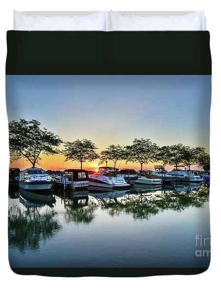 Sawmill Creek Morning Duvet Cover