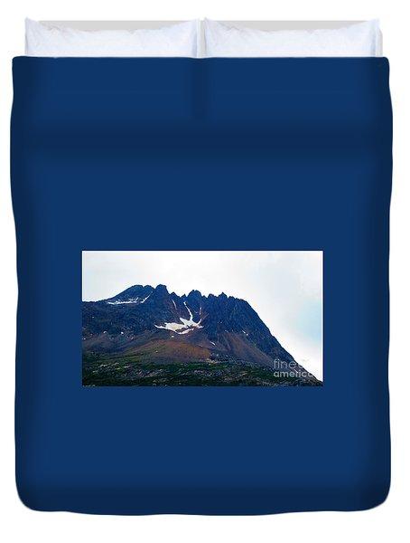 Sawtooth Alaska Duvet Cover