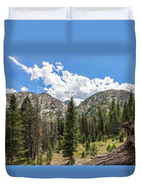Sawtooth Wilderness 1 Duvet Cover