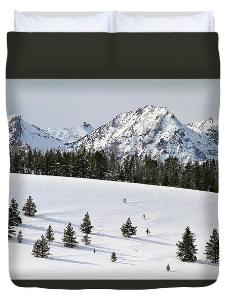 Sawtooth Wilderness Central Idaho Duvet Cover