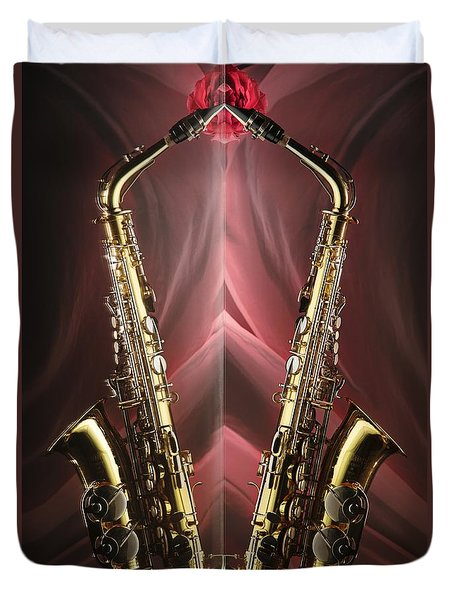 Sax Appeal Duvet Cover