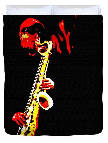 Sax Tribute Duvet Cover