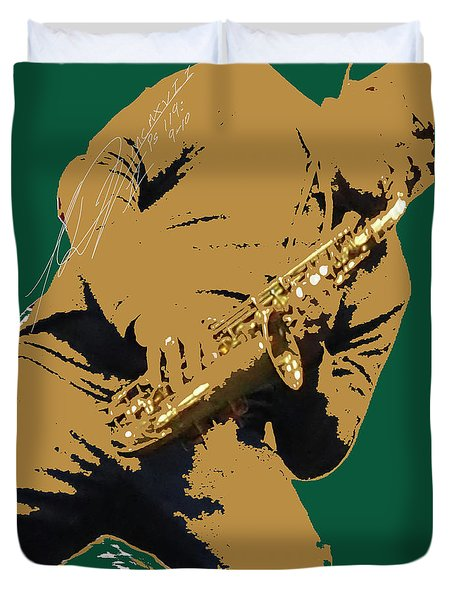 Saxual Passion Duvet Cover