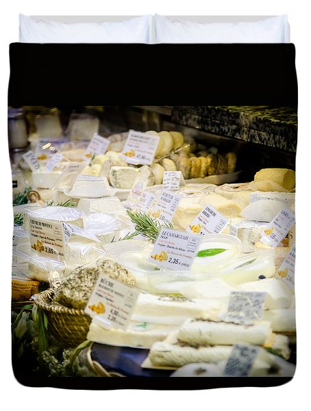 Duvet Cover featuring the photograph Say Cheese by Jason Smith