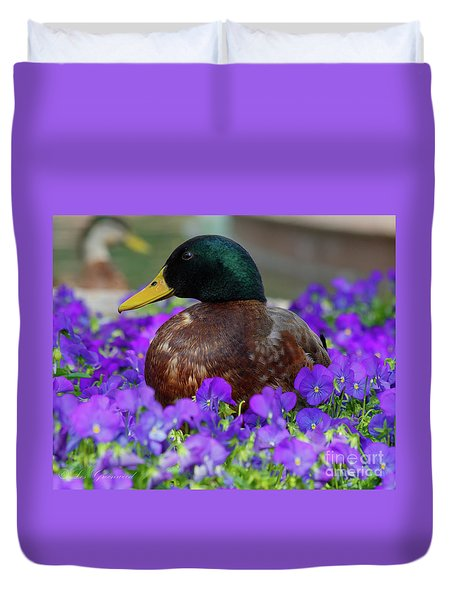 Say Quack Duvet Cover