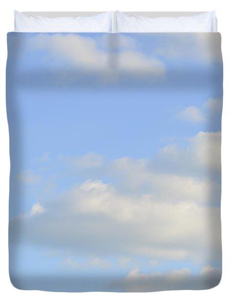 Say Vertical Duvet Cover