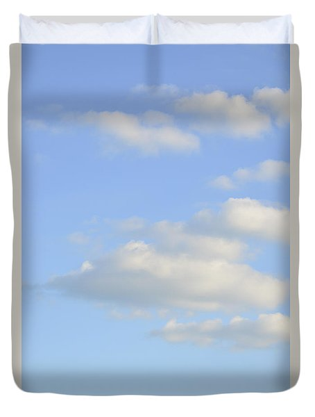 Duvet Cover featuring the photograph Say Vertical by Wanda Krack