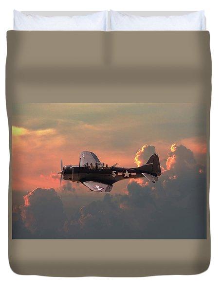 Sbd - Dauntless Duvet Cover