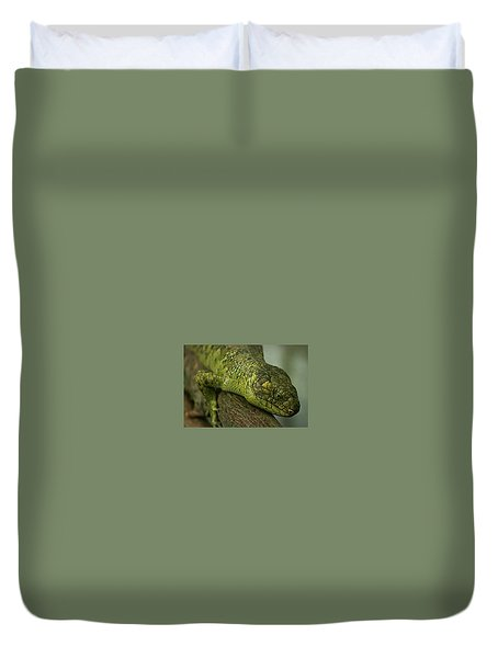 Scales Of The Hunter Duvet Cover