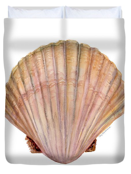 Scallop Shell Duvet Cover