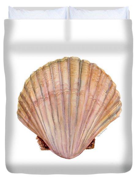 Scallop Shell Duvet Cover