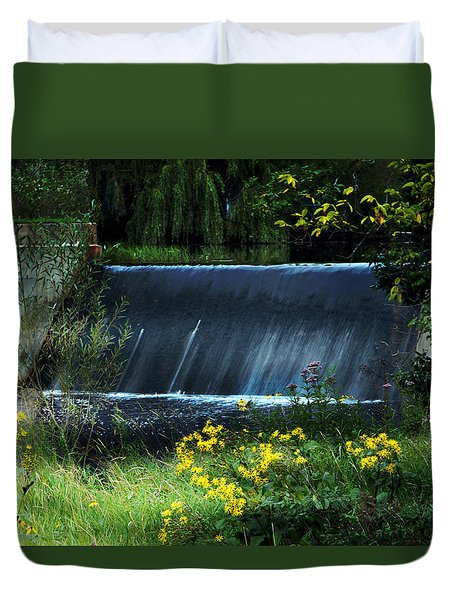 Scandinavia  Dam Duvet Cover by Judy  Johnson