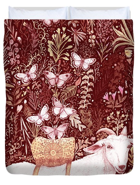 Scapegoat Healing Tapestry Print Duvet Cover