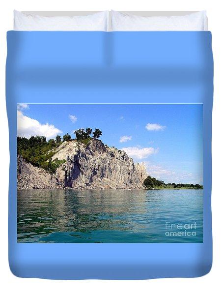 Scarborough Bluffs-lake View Duvet Cover