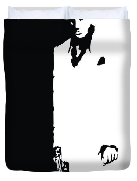 Scarface 1983 Duvet Cover
