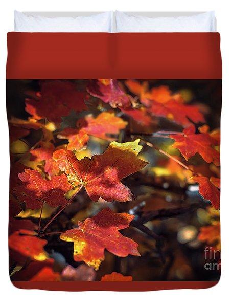 Scarlet September Duvet Cover