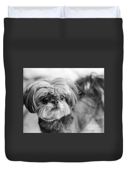 Scarlett B And W Duvet Cover
