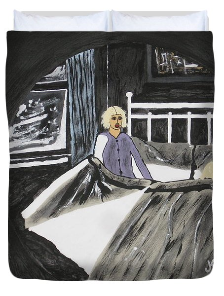 Scary Dreams Duvet Cover