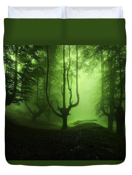 The Funeral Of Trees Duvet Cover