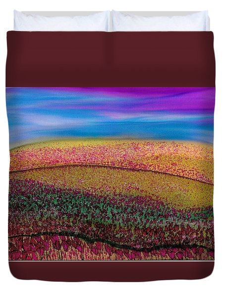 Scattered Stigma Duvet Cover