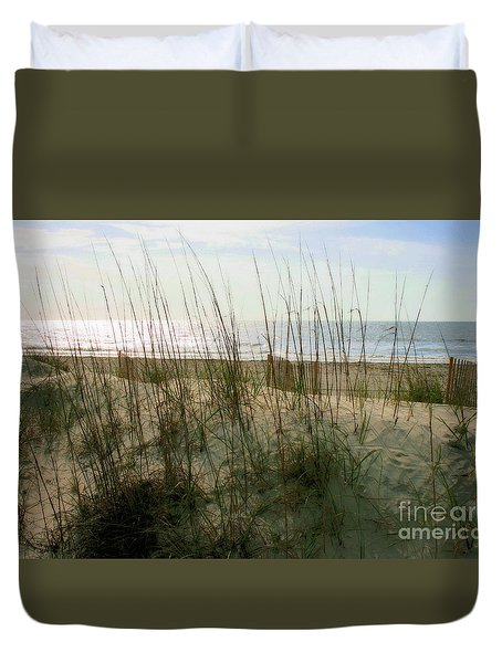Scene From Hilton Head Island Duvet Cover