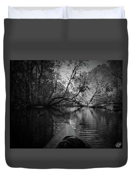 Scenes From A Kayak, No. 8 Duvet Cover