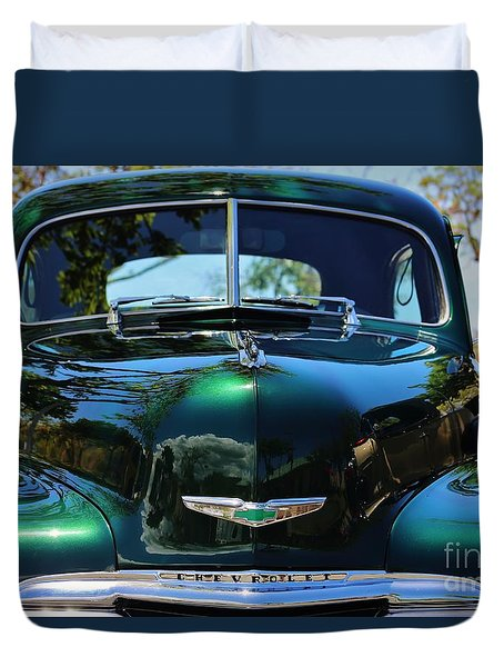 Scenic 1948 Chevrolet Duvet Cover by Craig Wood
