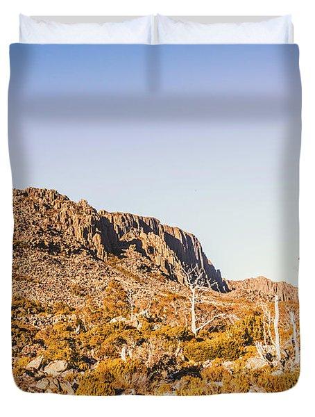 Scenic Barren Range Duvet Cover