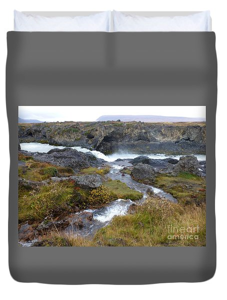 Scenic Intersection Duvet Cover