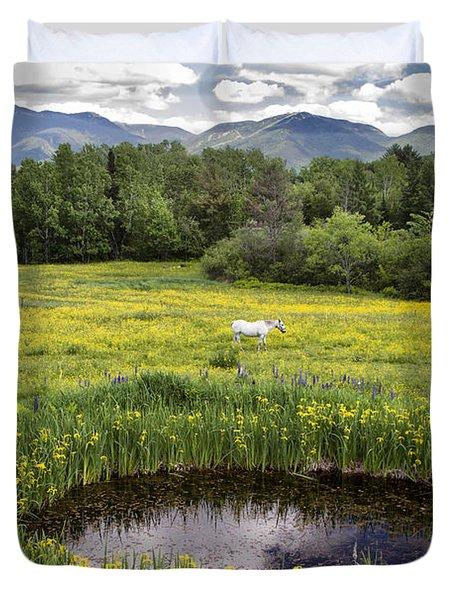 Scenic Pasture Duvet Cover