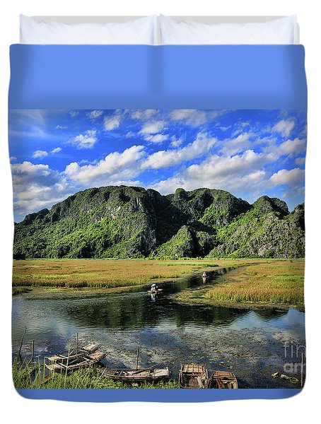Scenic Route  Duvet Cover