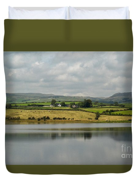 Scenic Scotland Duvet Cover by Amy Fearn
