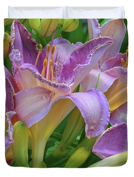 Scent Of A Lily Duvet Cover