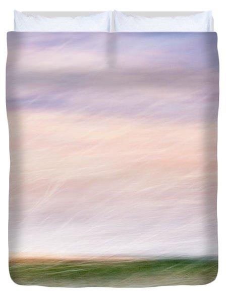 Scent Of Spring Duvet Cover