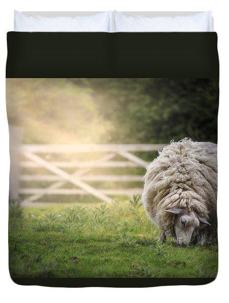 Sheep Duvet Cover by Joana Kruse