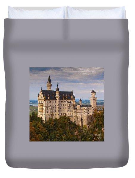 Schloss Neuschwanstein Duvet Cover by Franziskus Pfleghart