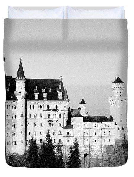 Schloss Neuschwanstein Duvet Cover by Juergen Weiss