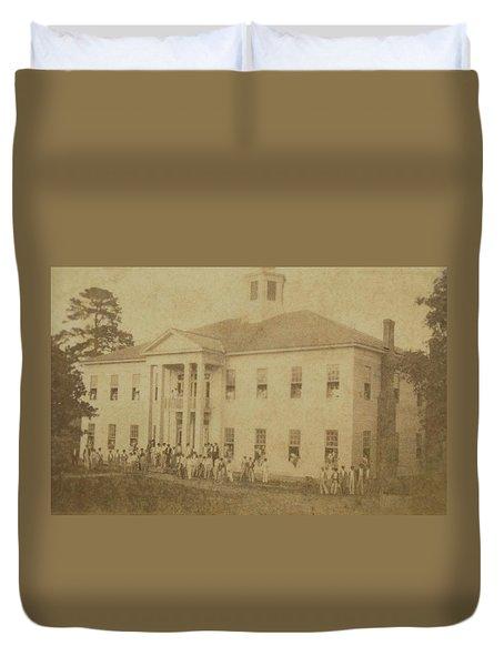 School 1901 Duvet Cover