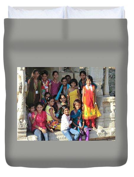 School Class Duvet Cover