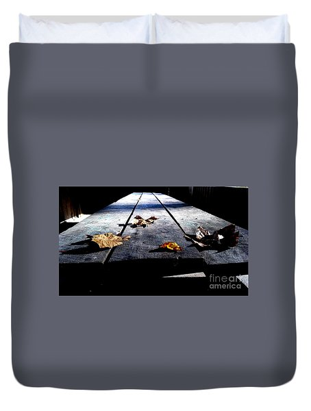 Schooled In Thought Duvet Cover