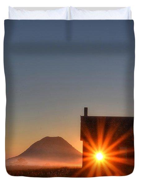 Schoolhouse Sunburst Duvet Cover