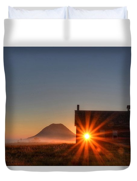 Schoolhouse Sunburst Duvet Cover