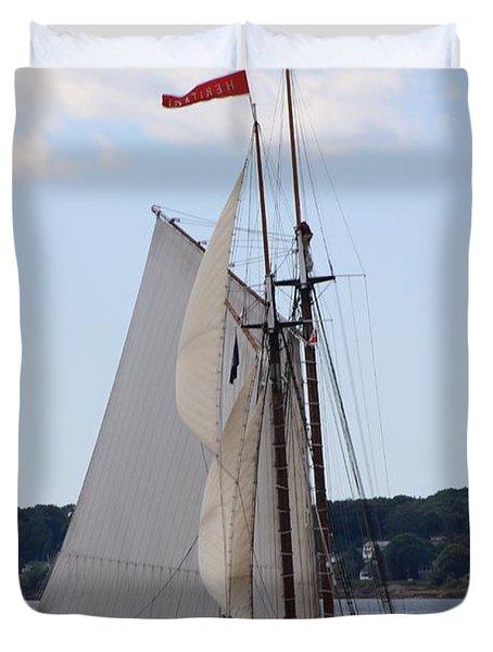 Schooner Heritage Duvet Cover