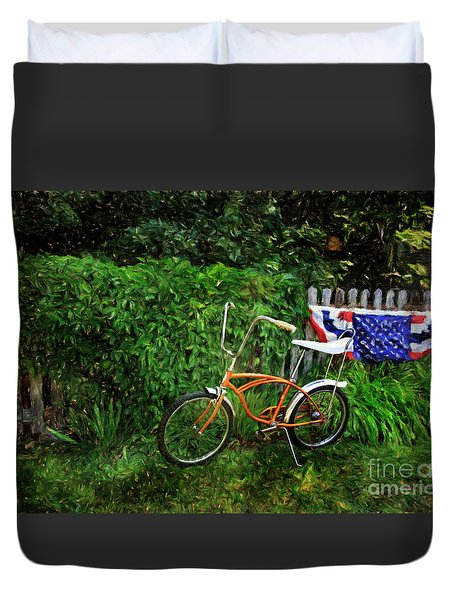 Schwinn Deluxe Stingray 65 Duvet Cover