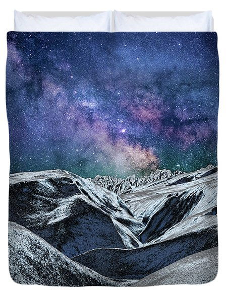Sci Fi World Duvet Cover
