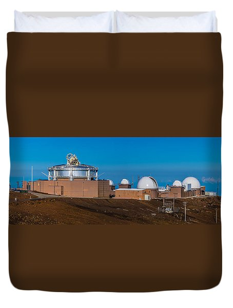 Science City Duvet Cover