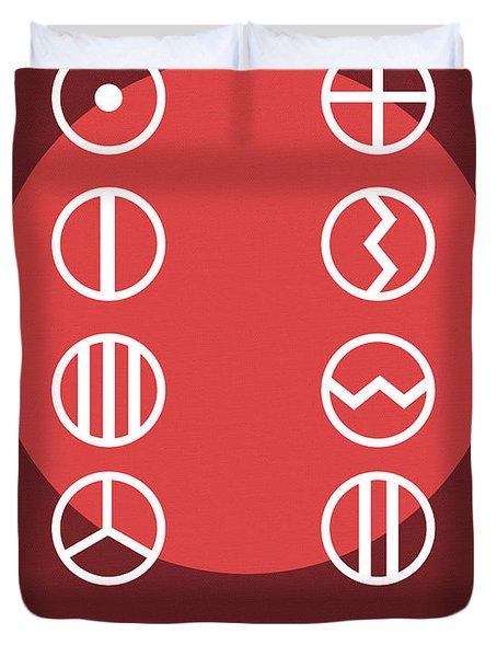 Science Posters - John Dalton - Chemist, Physicist Duvet Cover